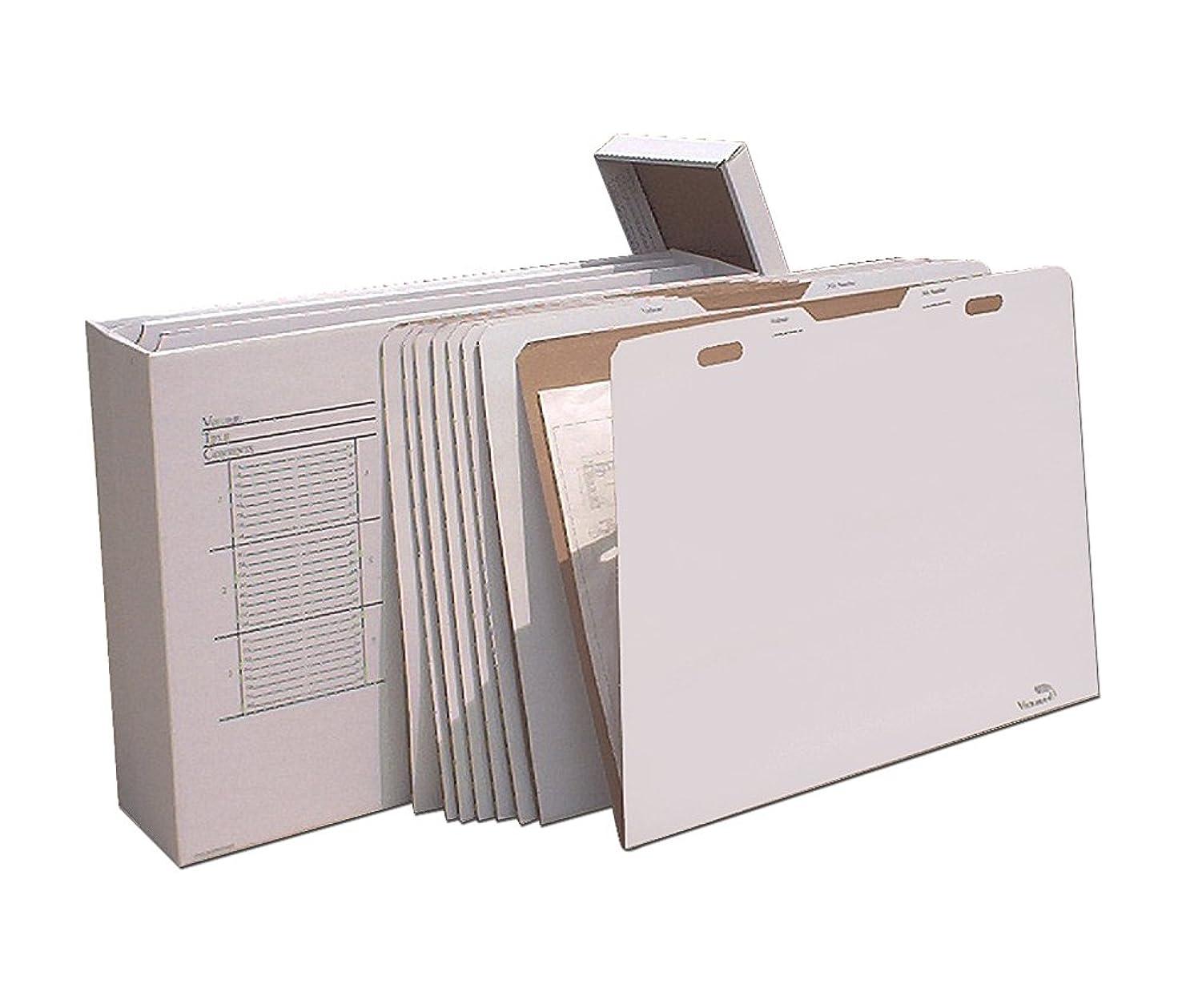 蚊抽出一次Offex垂直フラットファイルオーガナイザー?–?Storesフラットアイテム最大30?x 42コンピュータ、電子機器