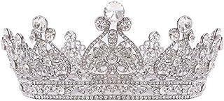 LUCKYYY Corona barocca, Corona Corona Corona d'oro della Sposa.
