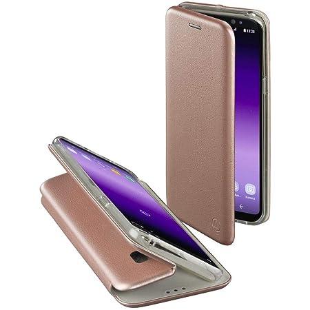 Hama Schutzhülle Curvee Für Samsung Galaxy S8 Magnetisches Tpu Terrmoplastisches Polyurethan Pu Leder Pu Drahtloses Aufladen Kabelloses Laden Roségold Elektronik