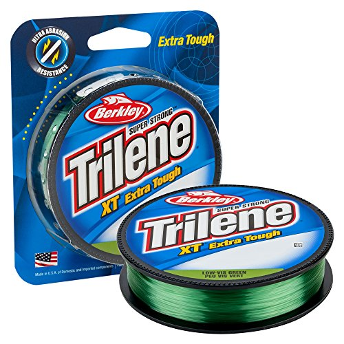 Berkley Trilene XT Filler 0.015-Inch Diameter Fishing Line, 12-Pound Test, 300-Yard Spool, Low Vis Green