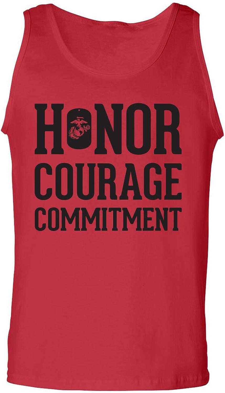 zerogravitee Honor Courage Commitment Adult Tank Top