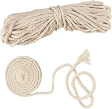 AILINDA Dikke Macrame Katoen Koord DIY Handgemaakte Craft Koord voor Haak Tafelmatten Manden Manden Touw Outdoor Hangmat T...