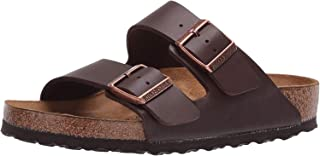 Birkenstock Arizona, Unisex-adult Sandals, Brown (DARKBROWN)
