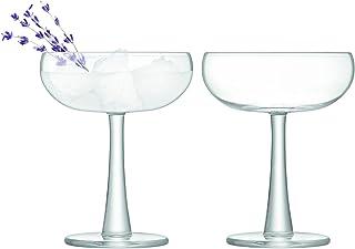 LSA International Gin Coupe Glass, 9.5 fl oz/H5.5in, Clear