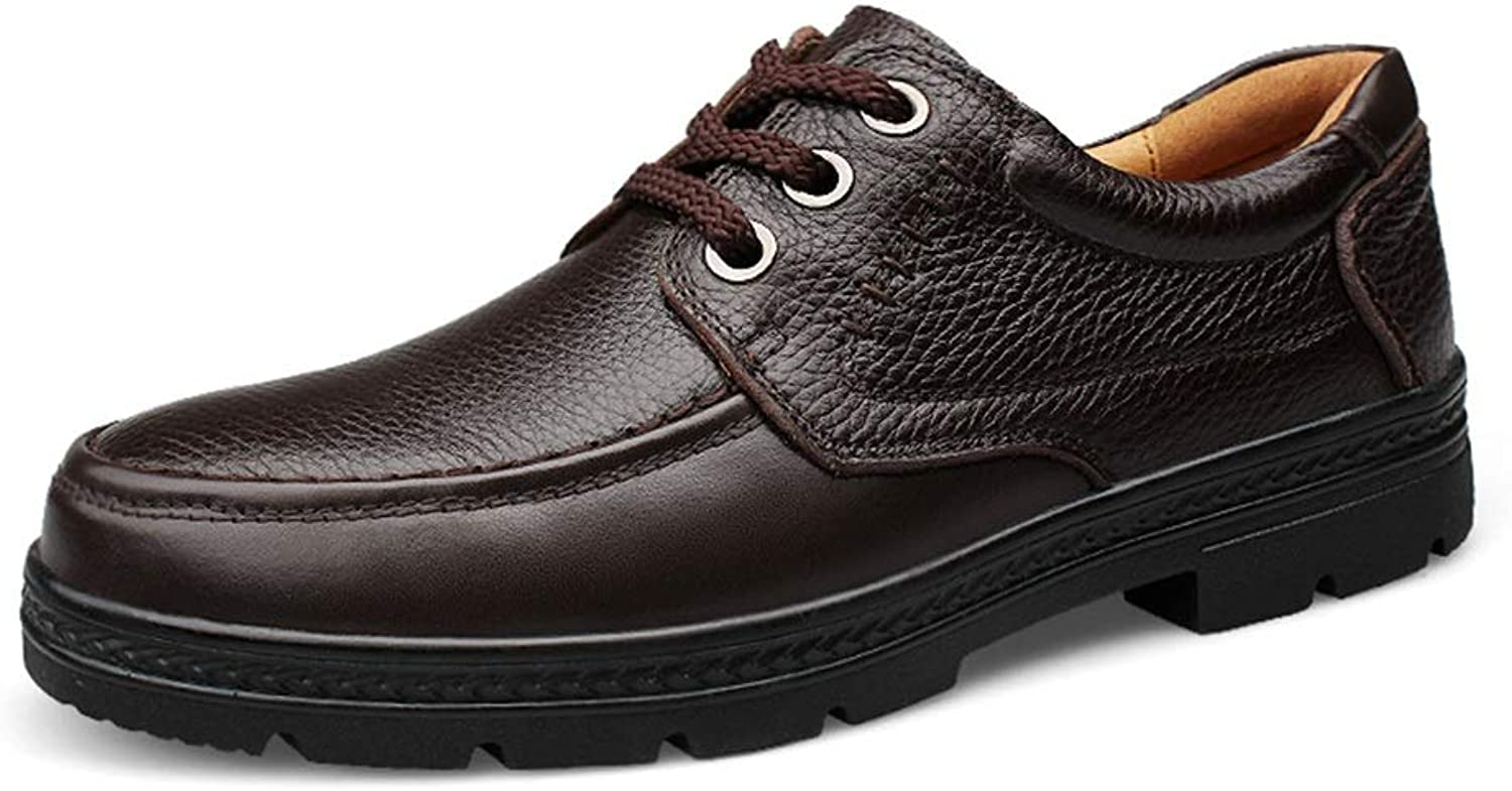 Hiskor Mans Business Oxford Casual Mode Autumn and and and Winter ny Rubebr Outole Formal skor Anti -Slip (Färg  bspringaaa, Storlek  7 D (M) US)  exklusiv