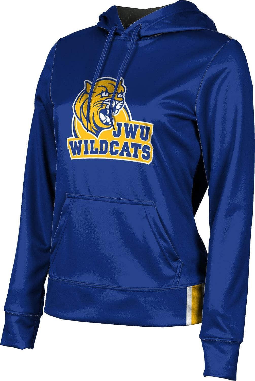 ProSphere Johnson & Wales University Girls' Pullover Hoodie, School Spirit Sweatshirt (Solid)