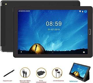 Tablet 10 Pulgadas Tablet Android 8.14G Phablet con Ranuras para Tarjetas SIM Dobles Procesador de Cuatro Núcleos 1.5GHz 3G + 32GB Doble Cámara