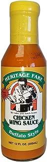 Heritage Fare Buffalo Chicken Wings Sauce 12 Fl Oz