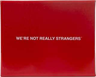 We're Not Really Strangers Card Game