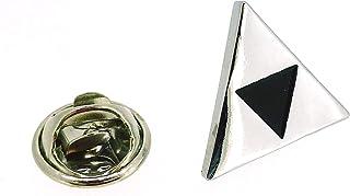 Pin de Solapa de la Trifuerza de Zelda Color Acero   Pines Originales Para Regalar   Para las Camisas, la Ropa o para tu M...