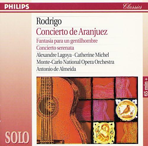Alexandre Lagoya, Catherine Michel, Orchestre National de l'Opéra de Monte-Carlo & Antonio de Almeida