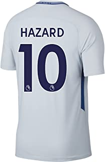 Nike Chelsea Away Hazard Stadium Jersey 2017/2018 (Authentic EPL Printing)