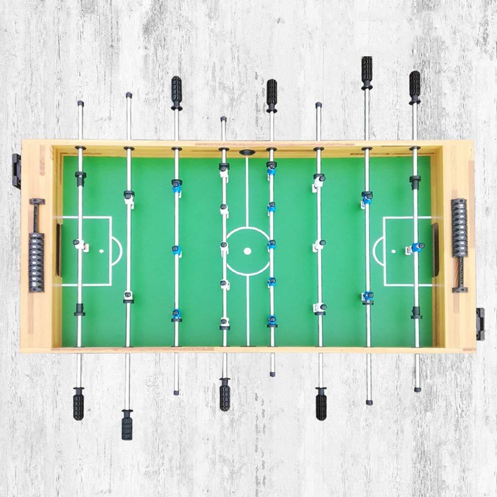 Futbolines Mesa De Juego Interior Máquina De Fútbol De Mesa Estándar para Niños Adultos 8 Juguetes Mesa De Fútbol Grande Regalos Máquina De Fútbol del Centro Comercial 140 Cm Juguetes y Juegos: