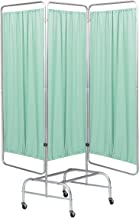 Omnimed 153961-G 3 Section Mobile King Screen Frame with Casters, Green