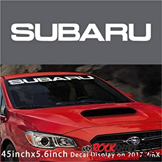Suchergebnis Auf Für Subaru Aufkleber Auto Motorrad