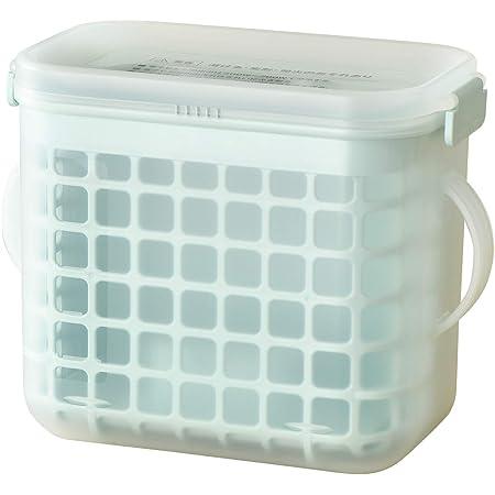 レック(LEC) 3WAY 哺乳びん 消毒ケース (電子レンジ・薬液消毒OK) 特許出願中 手で触らずカゴごと乾燥 1個 (x 1) 0か月~ プラスチック製 A00146