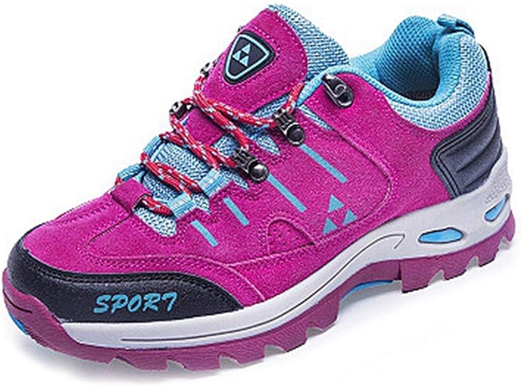 MIOKE Women's Casual Hiking Shoes Running Trail Hiker Waterproof Non-Slip Outdoor Sport Climbing Shoes