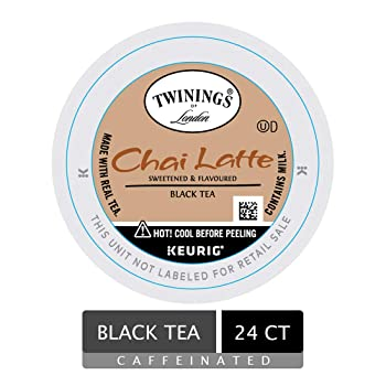Twinings of London Chai Latte Tea K-Cups