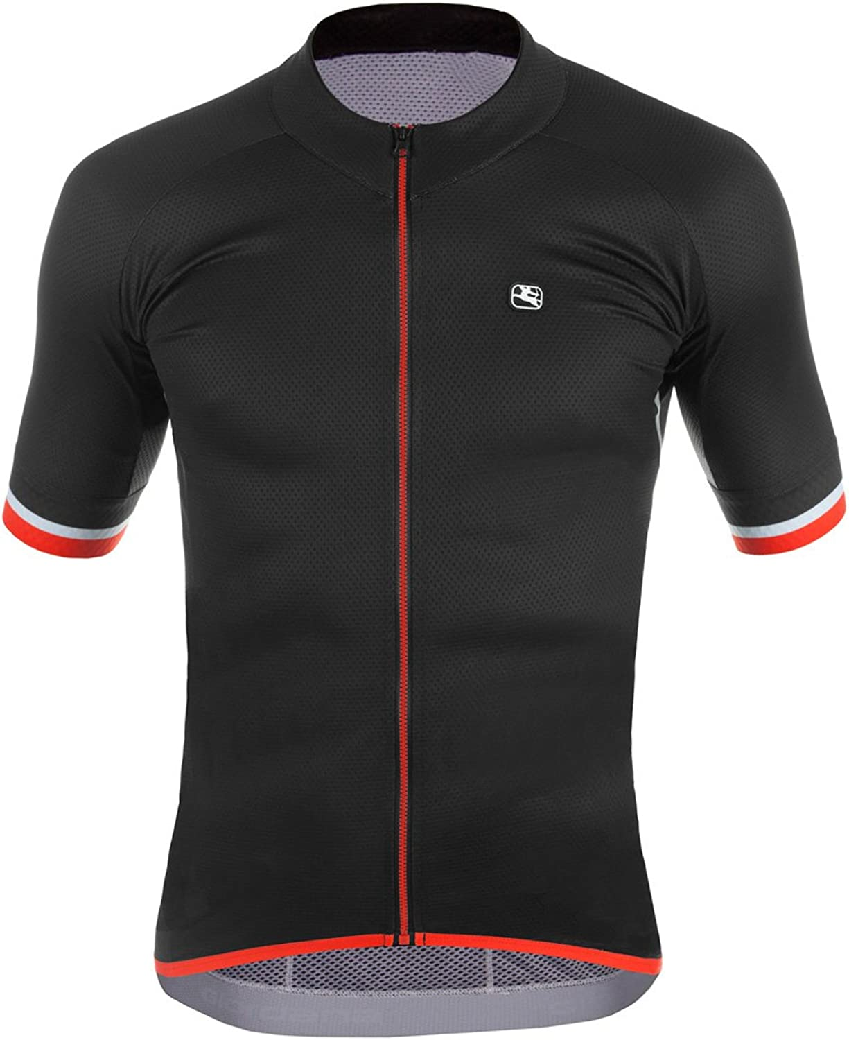 Giordana SilverLine Classic Jersey  ShortSleeve  Men's Black Red Accents M