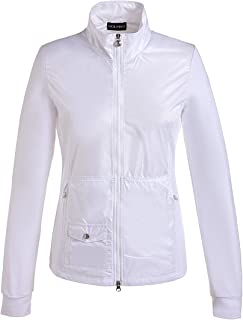 GOLFINO Stretch Polar Light Jacket - Optic White