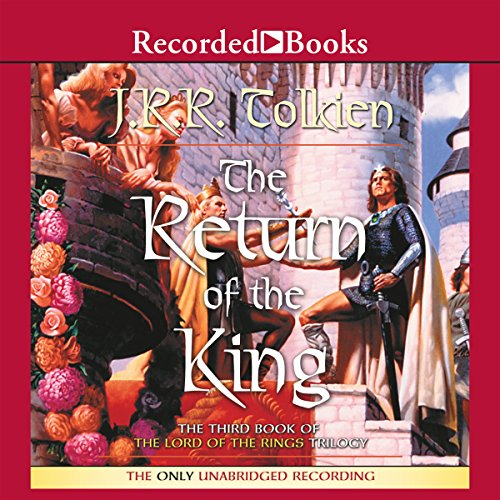 The Return of the King     Book Three in the Lord of the Rings Trilogy              Written by:                                                                                                                                 J. R. R. Tolkien                               Narrated by:                                                                                                                                 Rob Inglis                      Length: 18 hrs and 19 mins     214 ratings     Overall 4.8