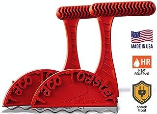Taco Toaster | 2 Healthy Taco Shell Makers | Crispy Healthy Tacos Shells Right From Your Toaster | Take Tacos To The Next Level