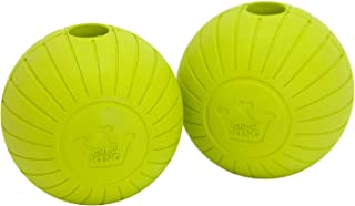 Chew King Fetch Balls Extremely Durable Natural Dog Toy Ball, Fetch Toy Collection, Fits Ball Launcher