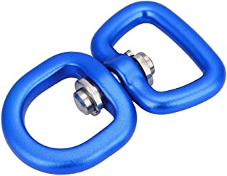 VGEBY Double Ended Swivel Eye Hook, Key Ring Connectors Double Ended Clasp Clip for Outdoor Activities, Boating, Dog Leash, Chain