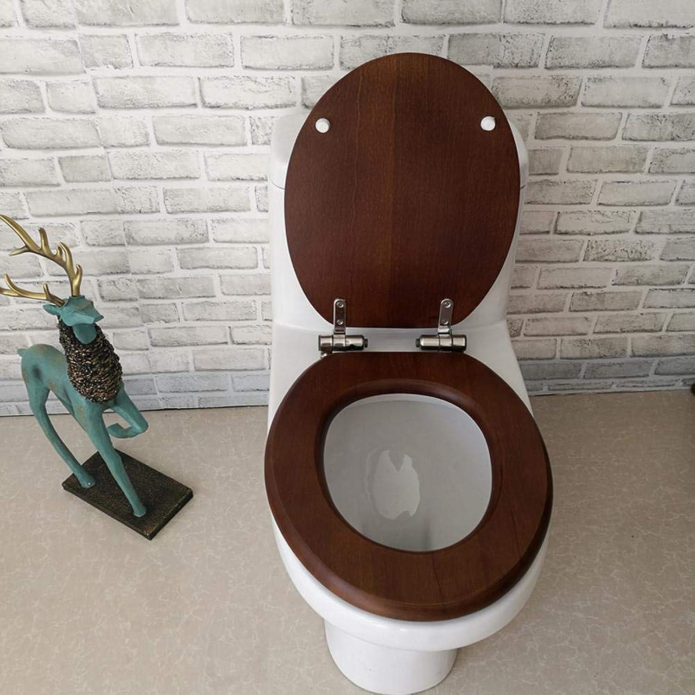 Universal U O V-Typ WC-Sitz mit Drop Silent Top Mounted Verdickt Ein zweiter WC-Deckel für den Familiengebrauch