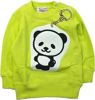 《秋冬春对应》 GARACH(GARACH) 毛圈布 钥匙扣熊猫运动衫 NO.AH-1831607 [対象] 72ヶ月 ~ Rm 120