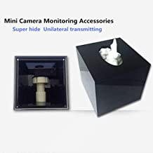 Super Hidden Monitoring Tissue Box, Electronic Clock Box,It is Suitable for Mini Camera and Small Motion Camera.-Liji integrated shop (Black)