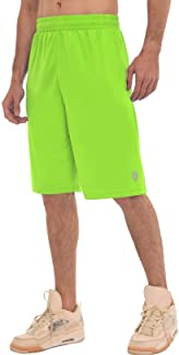 Mens Shorts Casual Workout Athletic Basketball Running...