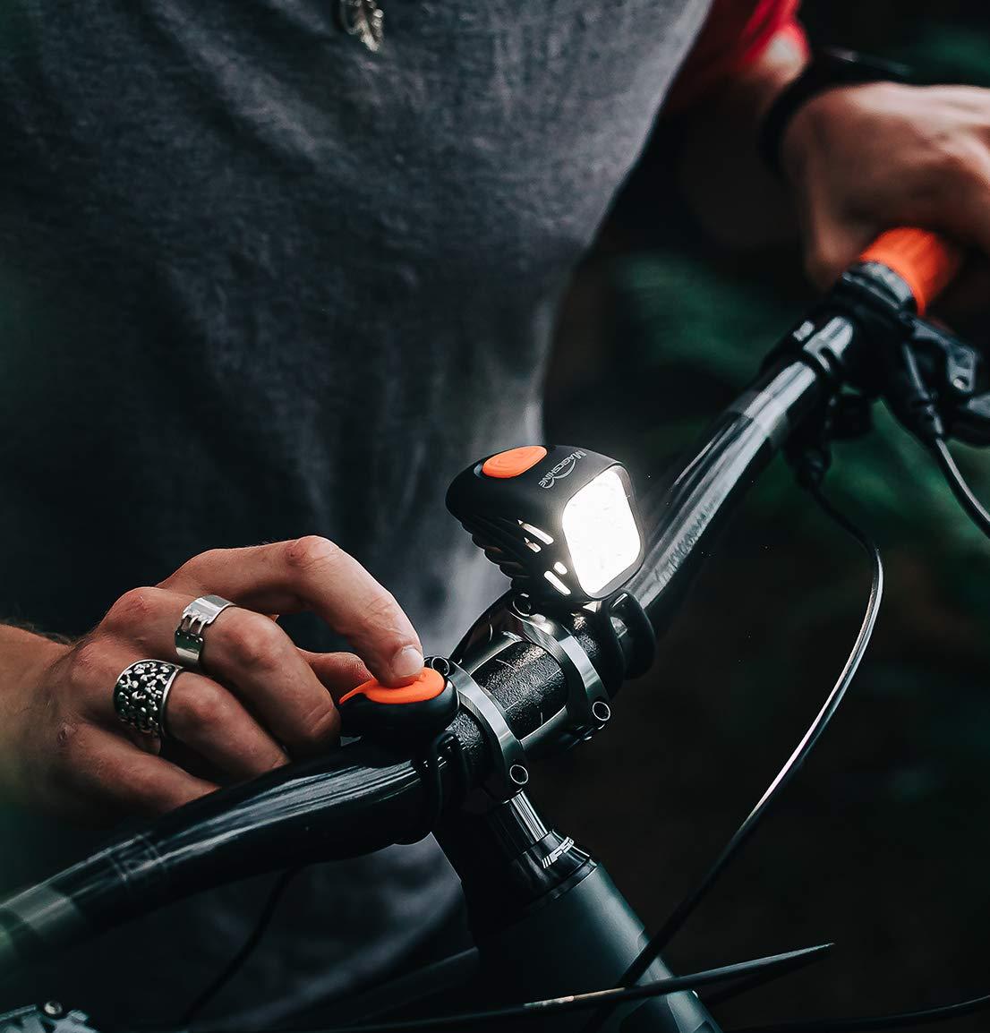 MagicShine MJ-816E 1800 lm Grand Angle DEL Bike Light Head uniquement avec O-Anneaux