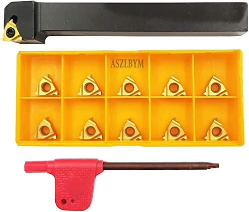 """high quality 1/2"""" CNC Lathe Carbide Indexable lowest Threading Turning Tool Holder SER1212H11 with 10PCS 11ER A60 BP010 Indexable Carbide Turning 2021 Insert outlet sale"""