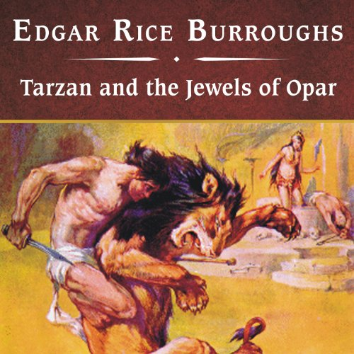 Couverture de Tarzan and the Jewels of Opar