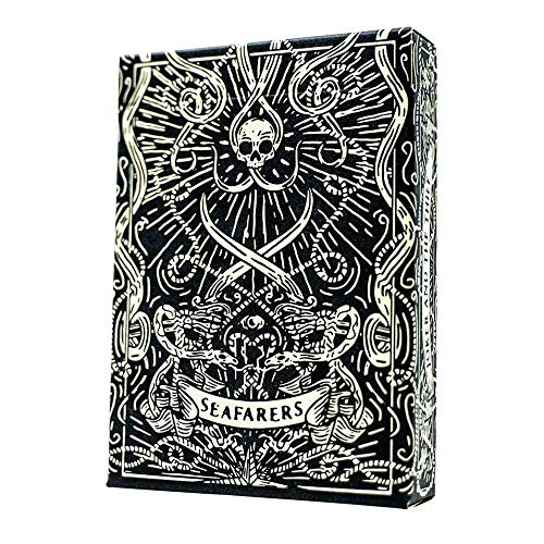 Playing Cards - Black Seafarers Submariner Edition Nautical Custom Deck by Joker and the Thief
