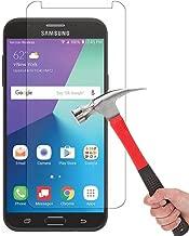 Samsung Galaxy J7 V / J7V (Verizon) / J7 2017 / Galaxy J7 Perx/Galaxy J7 Sky Pro/Galaxy Halo Screen Protector, AUSURE [9H Hardness] Ultra Clear HD 2.5D Tempered Glass for Galaxy J7 V (1 Pack)