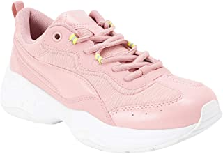 Puma Women's Cilia Shift Bridal Rose-nrgy Yellow Sneakers