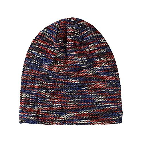 2018 nuevos sombreros de invierno para las mujeres otoño caliente Skullies gorros sombrero de punto de las muchachas de la manera Baggy capó casual señoras Cap