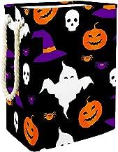 Laundry Bag Happy Halloween Element Large Storage Bin Storage Basket Clothes Laundry Hamper Toy Storage Bin