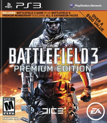 Electronic Arts - 1000563 - PS3 BATTLEFIELD3 PREMIUM EDITION DO 14 SETT 12