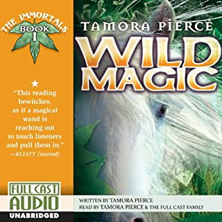 Wild Magic     The Immortals, Book 1              By:                                                                                                                                 Tamora Pierce                               Narrated by:                                                                                                                                 Tamora Pierce                      Length: 7 hrs and 54 mins     45 ratings     Overall 4.6