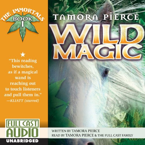 Wild Magic audiobook cover art