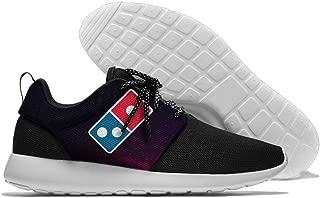 Coallw Domino€s Pizza Logo Men's Running Shoes Mesh Soft Lightweight Sport Shoes