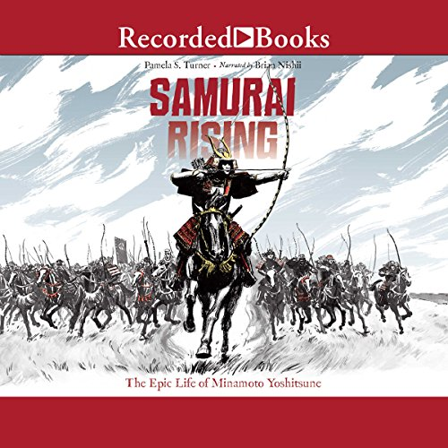 Samurai Rising audiobook cover art