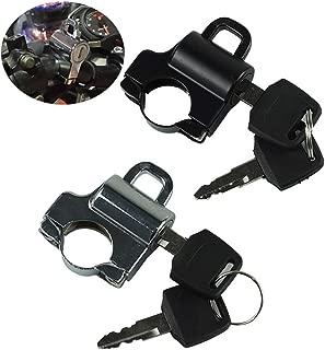 R TOOGOO Interruptor de Llave Vespa ATV Ciclomotor GO Kart Electrica Motocicleta Bloqueo Bici para CG125