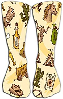 YILINGER Socks for Women & Men - Best for Running, Athletic Sports, Crossfit, Flight Travel 19.7