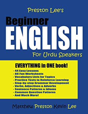 Preston Lee's Beginner English For Urdu Speakers
