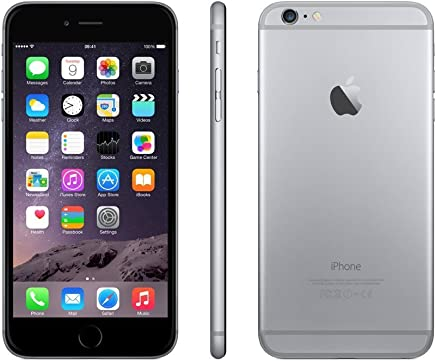 Apple iPhone 6 Plus Plata 16 GB (Renewed)
