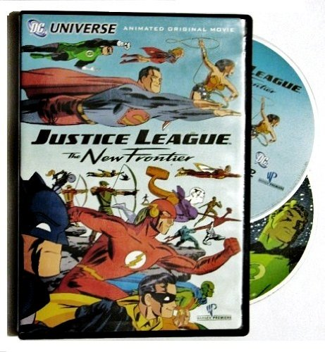 Justice League The New Frontier Animated Original Movie (Widescreen Edition) & The New Frontier Green Lantern (CD-ROM DC